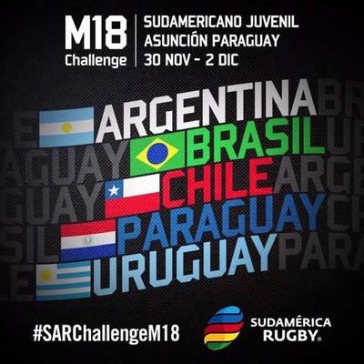 Paraguay albergará sudamericano juvenil de rugby