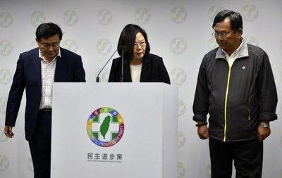 Descalabro oficialista en comicios de Taiwán