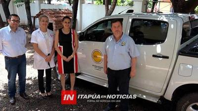 SENEPA RECIBIÓ UNA FLAMANTE CAMIONETA PARA LUCHAR CONTRA VECTORES.