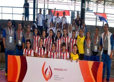 Paraguay arrasa en la primera jornada de Juegos Escolares