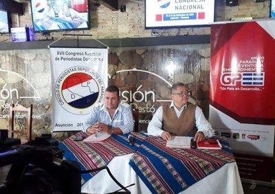 Congresistas del CPDP haránrecorrido por sedes deportivas