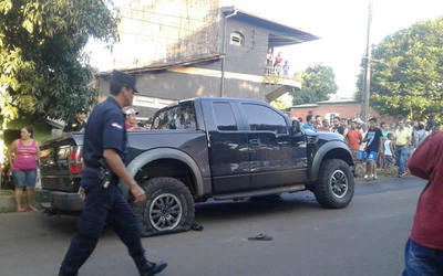Heridos tras atentado en Pedro Juan Caballero están bajo custodia