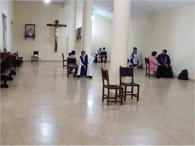 Peregrinos aprovechan visita a Caacupé y confiesan sus pecados