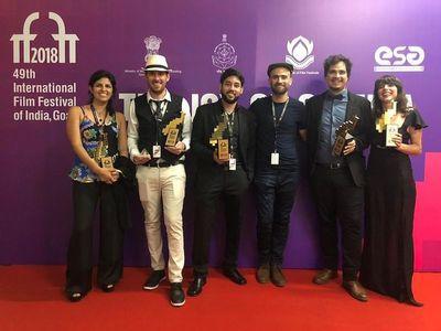 Celso Franco estrenó nuevo filme en India