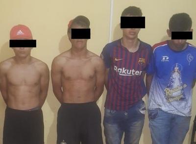 Detienen a presuntos asaltantes tras persecución