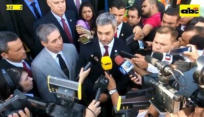 """Abdo Benítez habla sobre fuga en Agrupación y dice que """"corrió plata"""""""