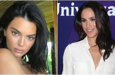 Kendall Jenner quiso saludar a Meghan Markle y la seguridad de la duquesa se lo impidió