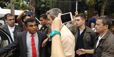 Marito visitó brevemente a la interventora de la Municipalidad de Ciudad del Este