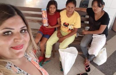 Pamelita Ovelar Mostró Su Lado Solidario