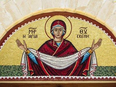 Mosaico de Virgen María en iglesia de Chipre plantea un enigma