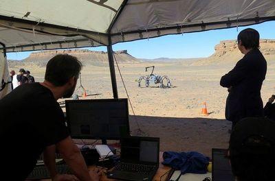Exploración del planeta Marte empieza en los desiertos de Marruecos