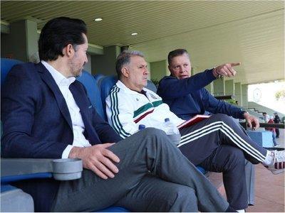 El cuerpo técnico del Tata seguía a México desde hace seis meses