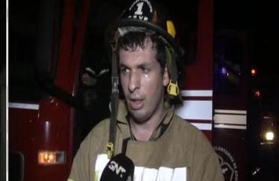 Sujeto quemó la casa tras discutir con su pareja