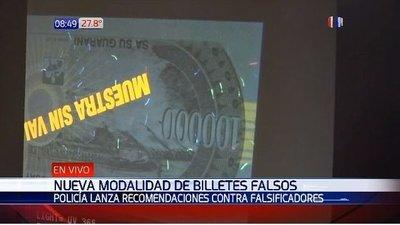 Aparece nueva forma de estafa con billetes falsos – Prensa 5