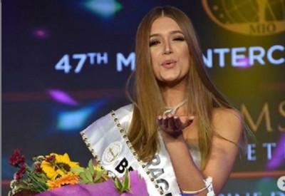 """Paraguaya logra el título de """"mejor traje de baño"""" en el Miss Intercontinental"""