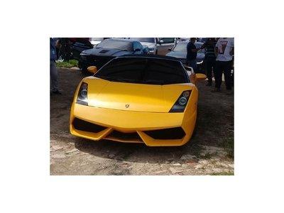 Senabico pone en vitrina la lujosa Lamborghini de Cucho