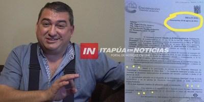 CASO INCENDIO: EJECUTIVO MUNICIPAL MINTIÓ DESCARADAMENTE A LA FISCALÍA