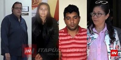 FISCALÍA ACUSÓ A RICARDO PALACIOS, MIRIAN IRALA, MIRTA HERRERA, Y ARMANDO ZACARÍAS