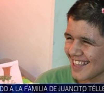 El pequeño Juancito pide ayuda para encontrar a su familia