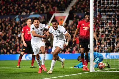 El PSG doblegó al Manchester United