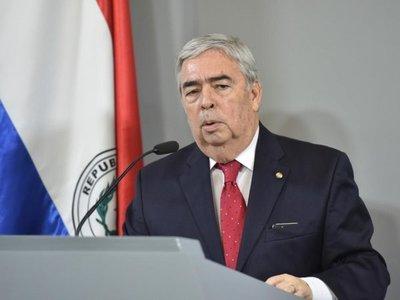 Saguier irá como embajador al Brasil