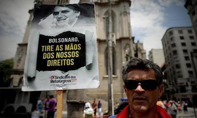 La reforma del sistema de pensiones de Bolsonaro genera descontento popular