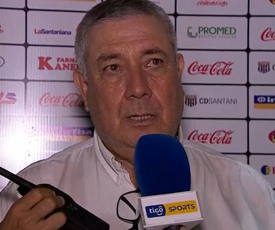 A Carlos Jara Saguier le gustó mucho el segundo tiempo