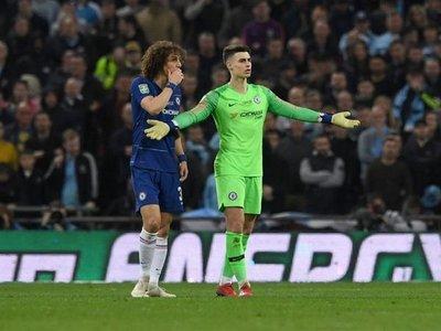 Chelsea sancionó al portero que desobedeció a su técnico