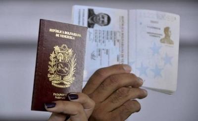 HOY / Pasaportes vencidos de venezolanos serán validos en Paraguay