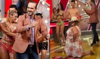 En Pleno Programa De Tv Así Sorprendieron A Álvaro Mora Por Su Cumpleaños