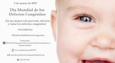 Recuerdan Día Mundial de los Defectos al Nacer