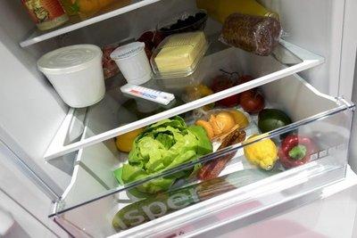 Cada alimento tiene su lugar en a heladera