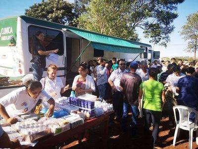 Salud Pública con jornada médica atendió a 400 ciudadanos en Itapúa
