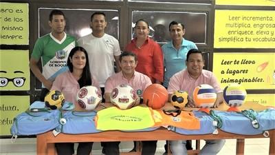 Impulsan práctica recreativa a través de escuelas deportivas en Boquerón
