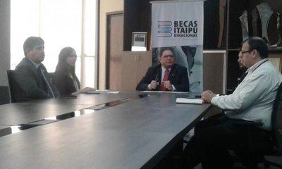 Excluyen a becados de Itaipú – Prensa 5