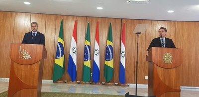 Abdo y Bolsonaro resaltan reunión amena y consolidan lazos