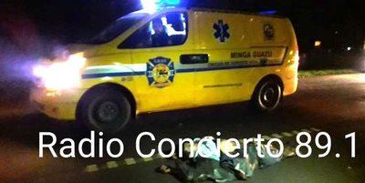 Hombre muere luego de caer al pavimento y ser arrollado