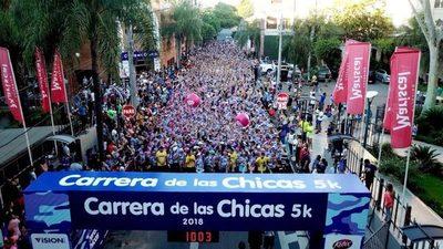 """Este domingo se viene la """"Carrera de las Chicas 5k"""""""