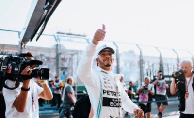 HOY / F1: Hamilton da un golpe de autoridad en Australia