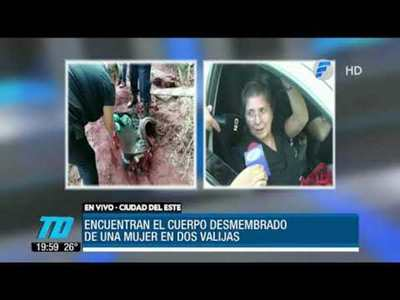 Macabro hallazgo en Alto Paraná
