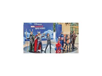 Capitana Marvel va del cine a un parque Disney en París