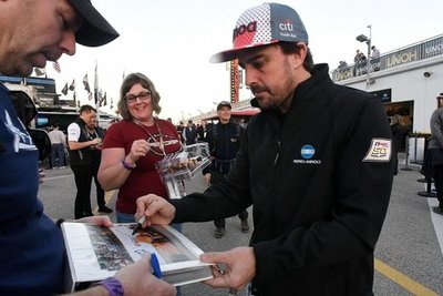 Alonso probará en Sudáfrica