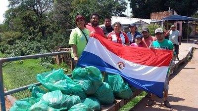 Grupo de Protección Ambiental invita a salvar al Arroyo Fortín