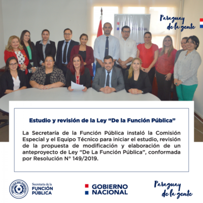 """Se integra la Comisión Especial para el estudio y revisión de la Ley """"De la Función Pública"""""""