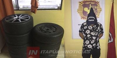APREHENDEN A SUPUESTO AUTOR DE HURTO DOMICILIARIO