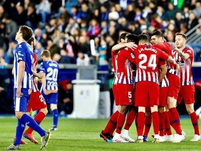 El Atlético reacciona