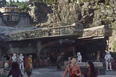 Disney se prepara para recibir multitudes por su parque de Star Wars