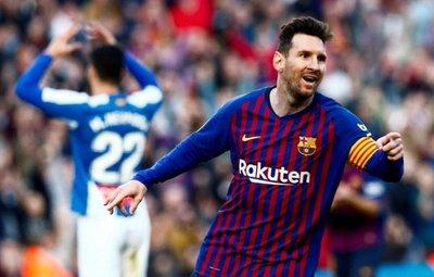 El Barça fue Messi, una vez más