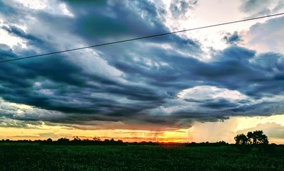 Inestabilidad y Lluvias importantes en el Chaco central para hoy y mañana