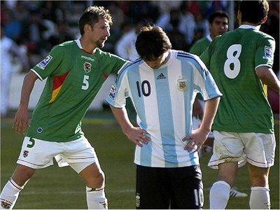 A 10 años de la histórica paliza de Bolivia a Argentina